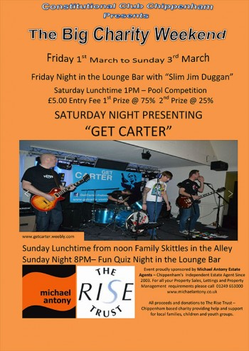 RAISING MONEY FOR THE RISE TRUST